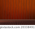 Classic background with wooden pattern texture flo 20338491