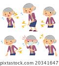 症狀 老人 女性 20341647