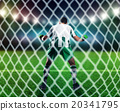 Goalkeeper on the field 20341795