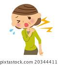 肩膀 女 疼痛 20344411