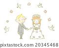 婚礼 新郎 新娘 20345468
