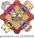 kotatsu, person, family 20346026
