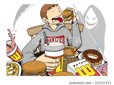 垃圾食品圖像圖 20352333