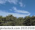 Blue sky and white cloud of inage coast 20353508
