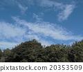 Blue sky and white cloud of inage coast 20353509