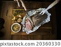 烤牛肉 碟 烹調的 20360330