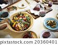 家庭聚會 碟 烹調的 20360401