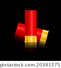 shotgun shells vector illustration. 20361575