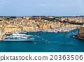 View of the marina in Valletta - Malta 20363506