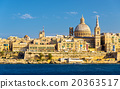 View of Valletta, the capital of Malta 20363517