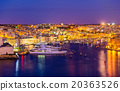 View of a marina near Valletta - Malta 20363526