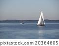 Sailboats at the Bavarian lake Chiemsee, Germany 20364605