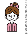 세련된 여자 【심플 캐릭터 시리즈] 20365181