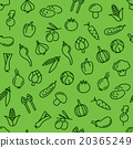 vegetable seamless pattern 20365249
