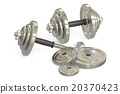 dumbbell 3d weight 20370423