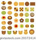 餅乾 插畫 插圖 20372414