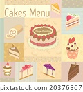 Cakes menu 20376867