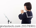 初中生 中学生 女孩 20376901