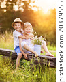 Cute kids in love 20379555