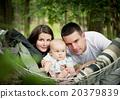 family, baby, park 20379839