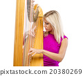 Woman with harp 20380269