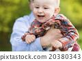 Little boy with dad 20380343