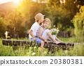 Cute kids in love 20380381