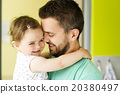 Father and daughter 20380497