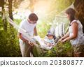 family, happy, park 20380877