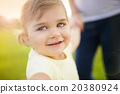 Little girl with mother 20380924