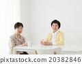 홈 미들 수석 여자 집에있는 부모 / 고부 20382846