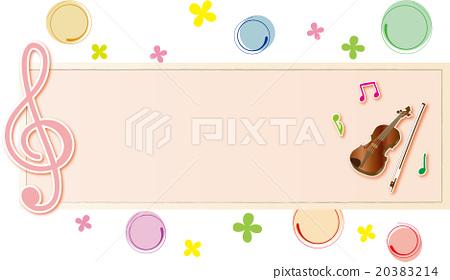 Violin frame 20383214