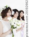 女性 3人 三人 20392662