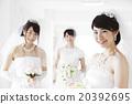 婚禮 婚紗 結婚禮服 20392695