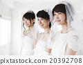 婚禮 婚紗 結婚禮服 20392708