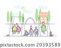 Children Group On Playground Leisure Holiday 20393589