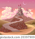 Fantasy landscape with castle 20397909
