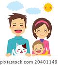 Cute Happy Family 20401149