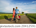 Couple on motorbike 20412591