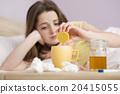 Sick woman 20415055