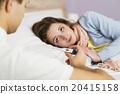 Sick woman 20415158