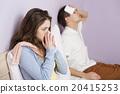 Sick woman 20415253