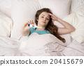 Sick woman 20415679