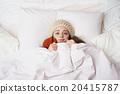 Sick woman 20415787