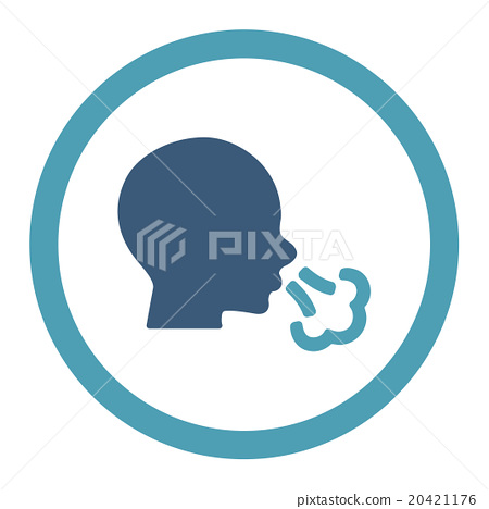 Sneezing Rounded Vector Icon 20421176