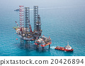 Offshore oil rig drilling platform 20426894