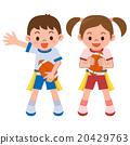 橄欖球 矢量 孩子 20429763