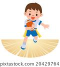 橄欖球 矢量 孩子 20429764