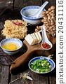 Ingredients for asian soup ramen 20431116