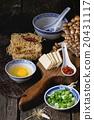 Ingredients for asian soup ramen 20431117